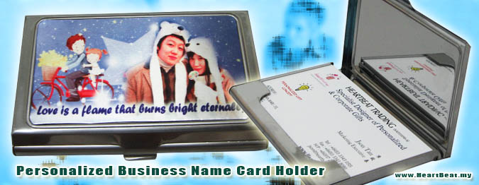 Name card holder premium gift business gift souvenir personalized business name card holder personalized reheart Choice Image
