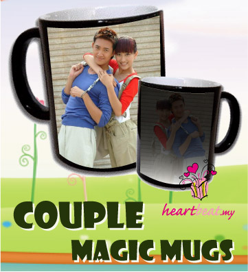 Couple Magic Mugs Color Changing Mugs Gift Ideas For Valentine S Day